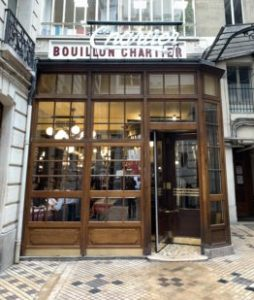 Bouillon Chartier, lhistorique