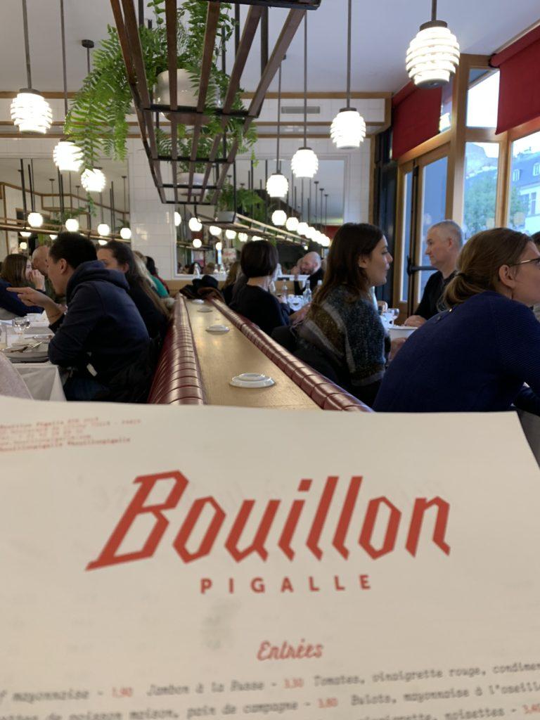 Bouillon Pigalle, la tradition branchée
