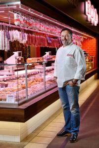 Le pain perdu charcuterie sèche de Bruno Bluntzer de la maison Sibilia