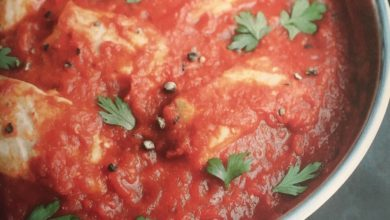 Le Hraime d'Annabelle Schachmes, dorade à la tomate et au paprika
