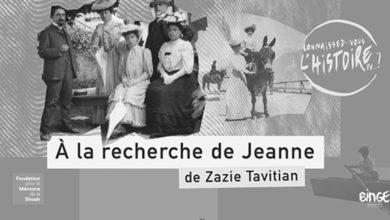 Jeanne, les recettes et la Shoah