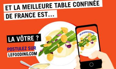 Devenez la Meilleure Table confinée de France du Fooding, avec le JDD