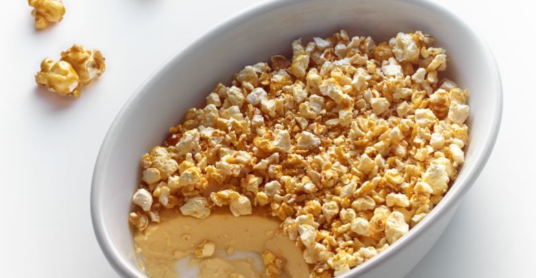 La crème brûlée pop-corn de yann Menguy