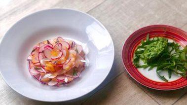 Les radis, haddock et raifort d'Anthony Denon