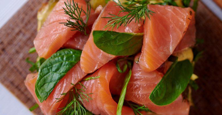 Latartine Smørrebrød au saumon de Lara Seydoux