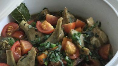 Les recettes du week-end: artichaut et fraises avec Nathan Helo