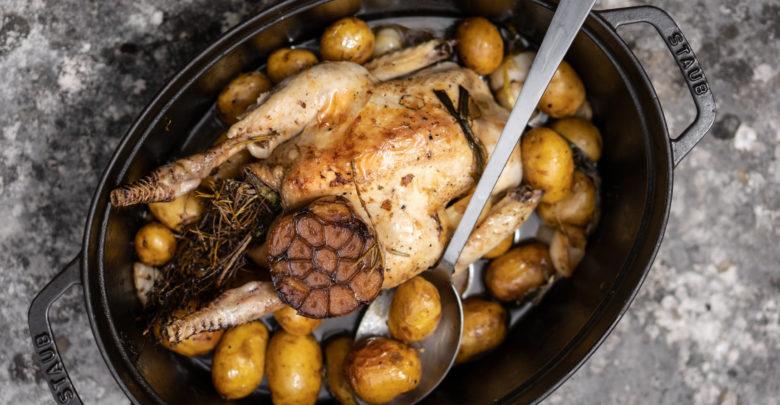 Les recettes du week-end: poulet et poivrons