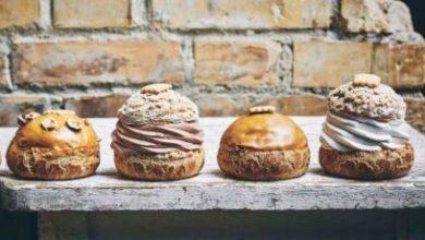 Pâtisseries : l'amour choux