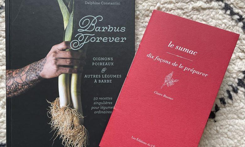 Livres de recettes : des poireaux et du sumac